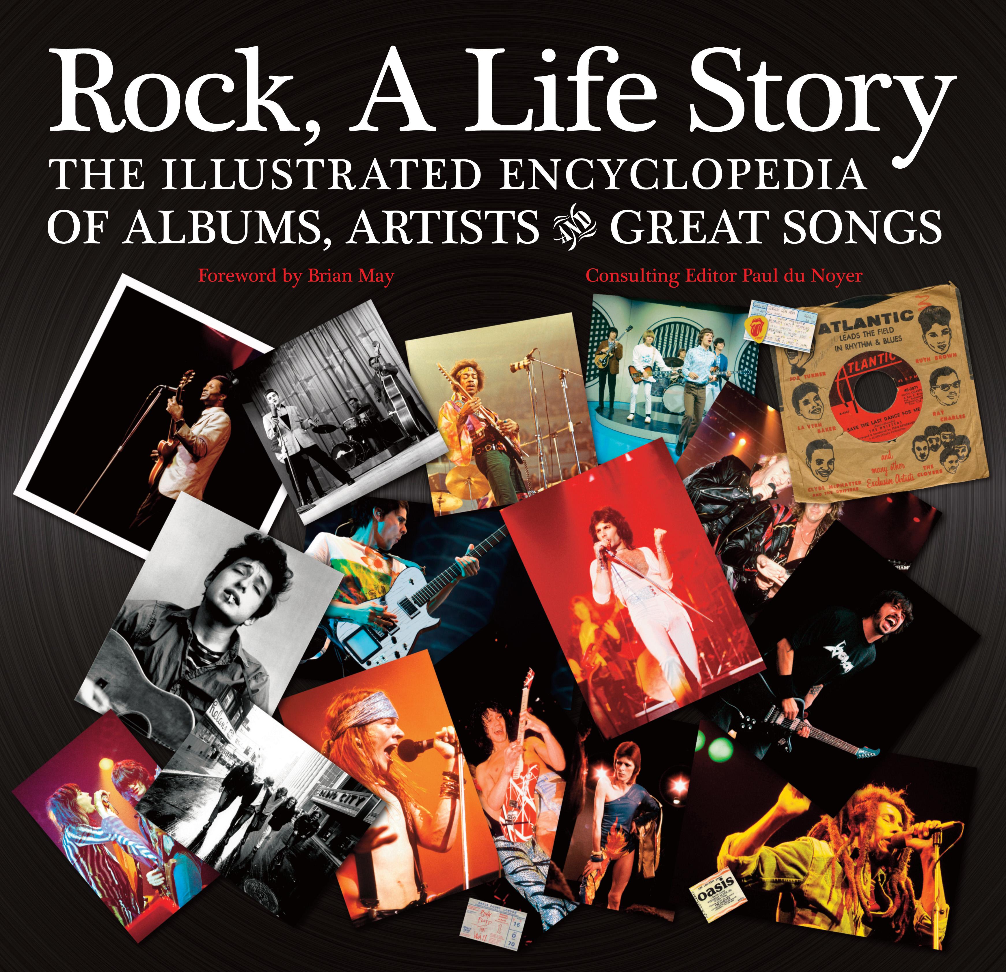 Rock, A Life Story; Flame Tree Publishing