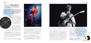 Rock Guitar Heroe inside pages 3, Flame Tree Music, highly illustrated book, classic rock bands, indie and alternative music