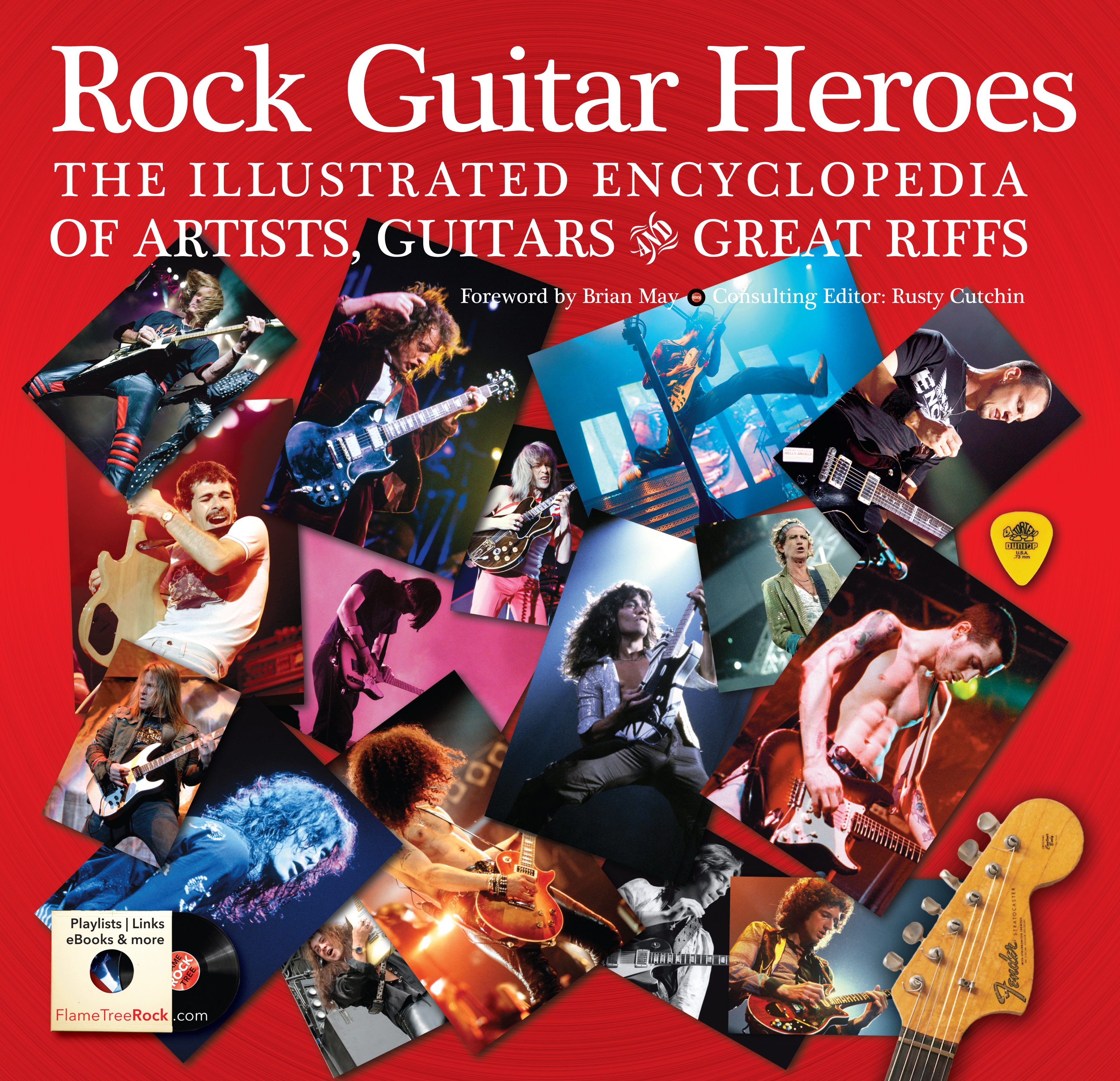 Rock Guitar Heroes; Flame Tree Publishing